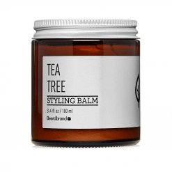 Baume barbe Beardbrand Tea Tree Coiffant Styling