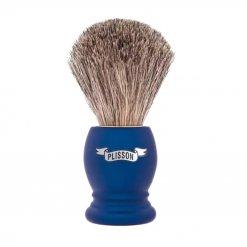 Blaireau Plisson Access Bleu Mat en Acétate Bernard 955801