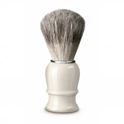 Blaireau rasage Thiers Issard plastique blanc