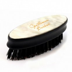 Brosse à barbe Corne Blonde Gentleman Barbier