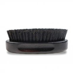 Brosse à barbe ovale bois de hêtre