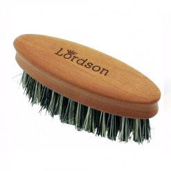 Brosse à barbe ovale Lordson fibre de cactus