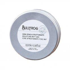 Cire cheveux Bullfrog fini mat