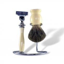 Coffret rasage homme Maison du Barbier couleur Ivoire