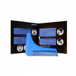 Contour Barbe plastique bleu utilisation simple 10.402