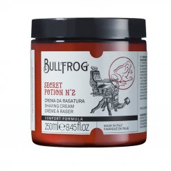 Crème à raser en pot Bullfrog Secret Potion n°2