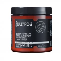 Crème à raser en pot Bullfrog Secret Potion n°3