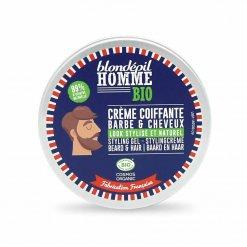 Crème coiffante barbe & cheveux Blondépil