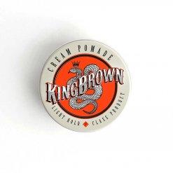 Crème coiffante King Brown Pomade