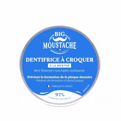 Dentifrice à croquer Big Moustache