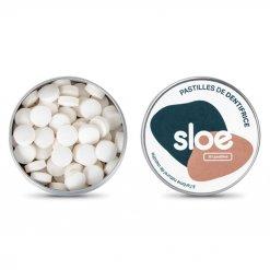 Dentifrice solide en pastilles Sloe