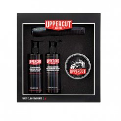Kit coiffure homme Uppercut Deluxe Matt Clay