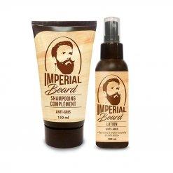 Kit entretien barbe anti barbe grise Imperial Beard