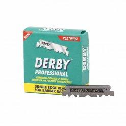 Lame de rasoir Derby paquet 100 Lames platinium 3,5cm