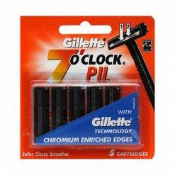 Lame de rasoir Gillette 7 O'clock PII