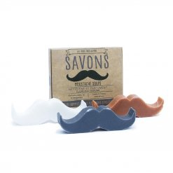 Pack de 3 savons solides moustaches Big Moustache