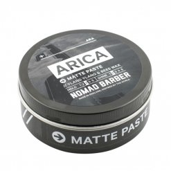 Pate coiffante mate pour cheveux  Nomad Barber Matte Paste ARICA