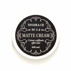 Pommade cheveux Tonsor & Cie Matte Cream 1.4