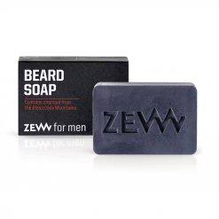 Savon nettoyant pour barbe ZEW For Men