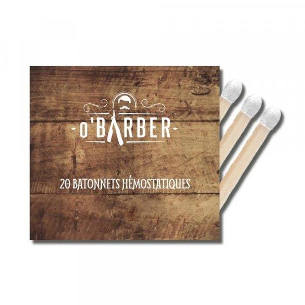 Bâtonnets hémostatiques spécial rasage O'Barber