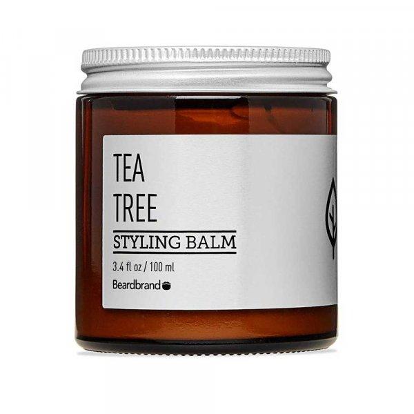 Baume barbe Beardbrand Tea Tree Coiffant Styling