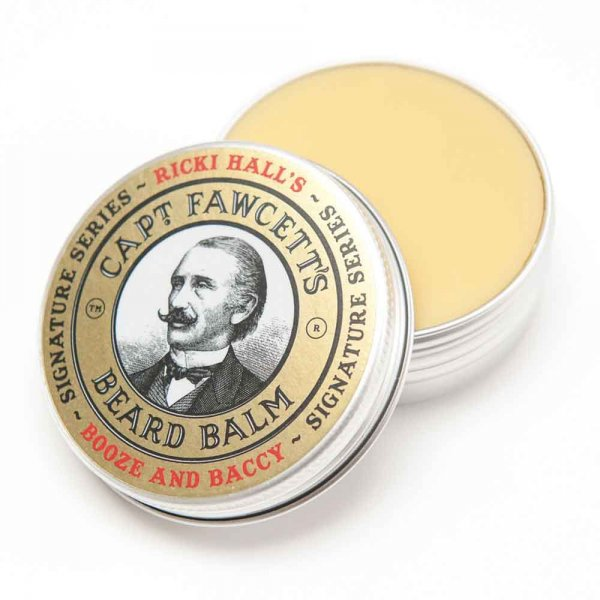 Baume barbe Captain Fawcett Booze and Baccy