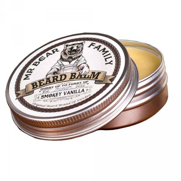 Baume barbe Mr Bear Family Smokey Vanilla