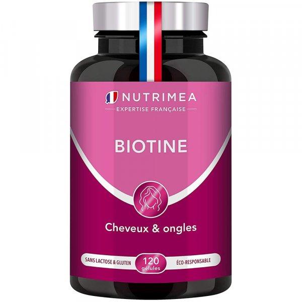 Biotine accélérateur de pousse cheveux et ongles Nutrimea