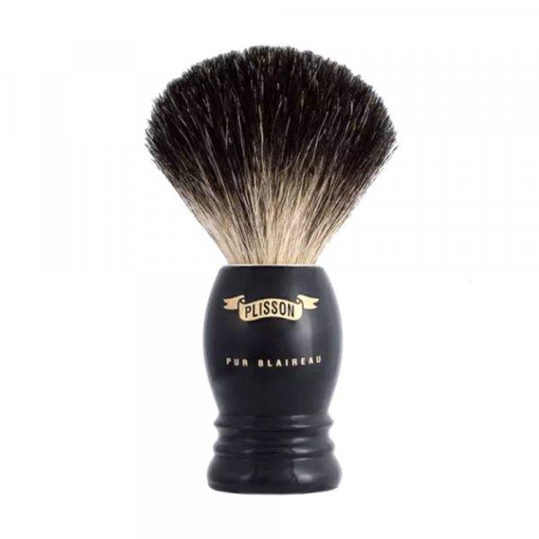 Blaireau Plisson Monture Haute Noire 5560