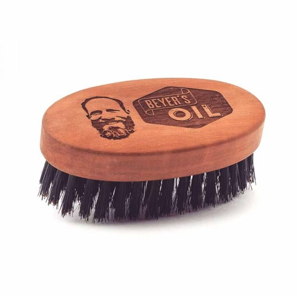Brosse a barbe Beyer's Oil grande taille