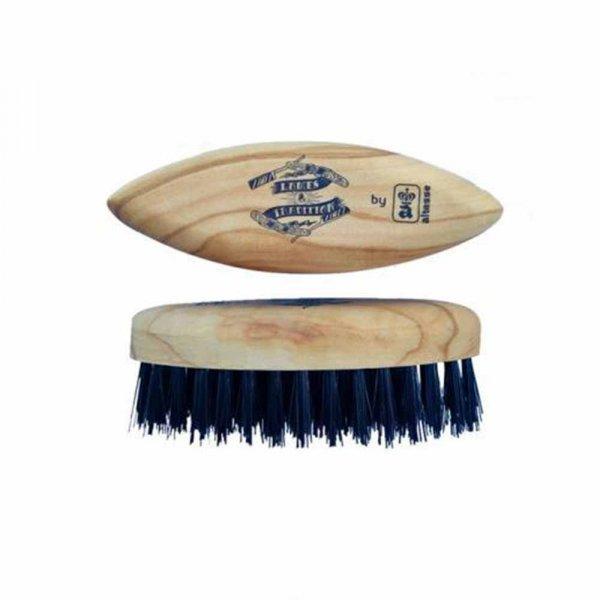 Brosse à barbe de poche Lames & Tradition