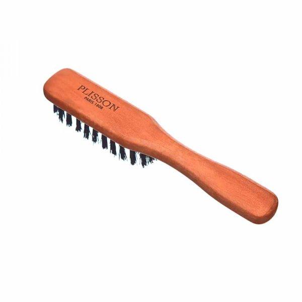 Brosse à barbe Plisson avec manche