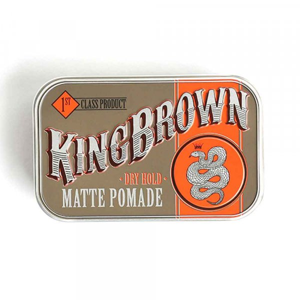 Cire cheveux King Brown Pomade Mate