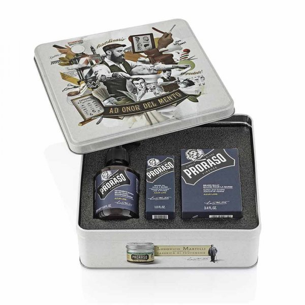 Coffret barbe Proraso Azur Lime