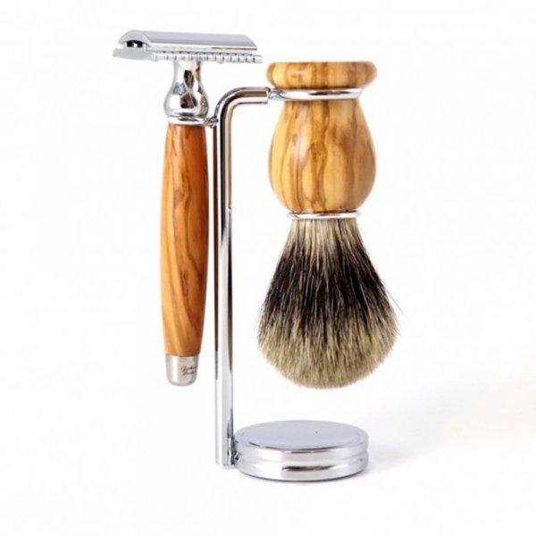 Coffret rasage homme Gentleman Barbier Leon