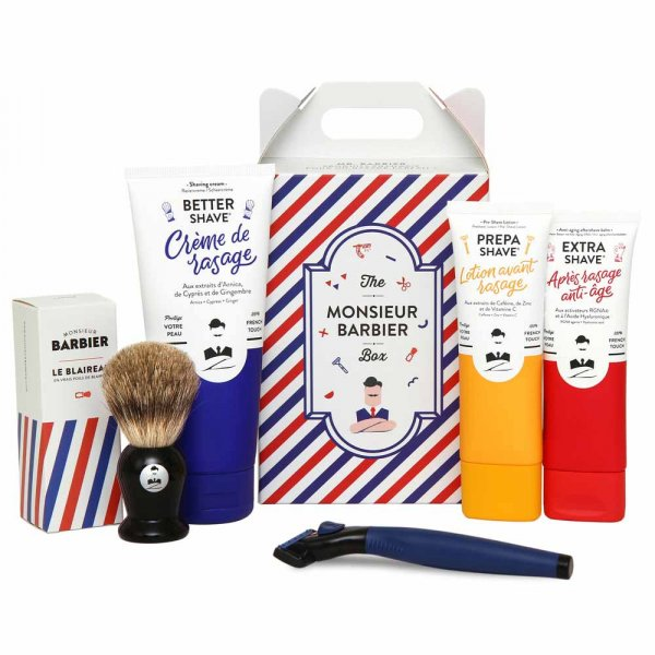 Coffret rasage homme Monsieur Barbier Super Daddy