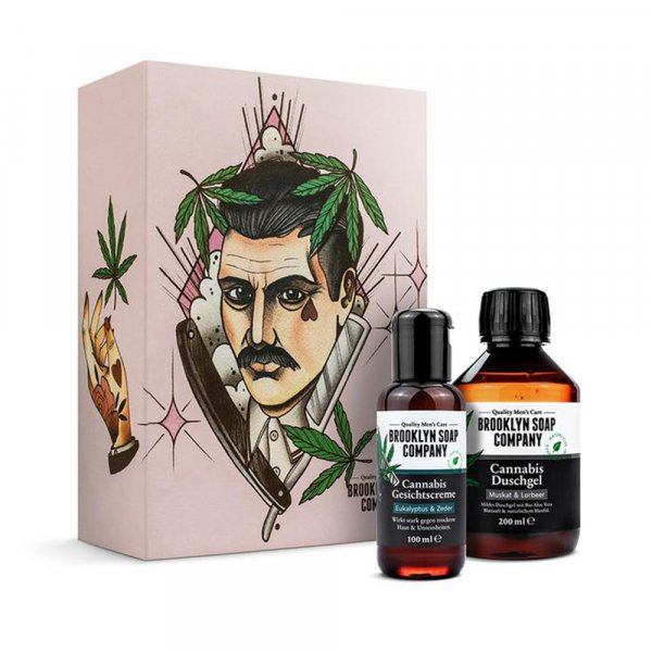 Coffret soin corps Brooklyn Soap Chanvre