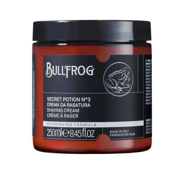 Crème à raser en pot Bullfrog Secret Potion n°3
