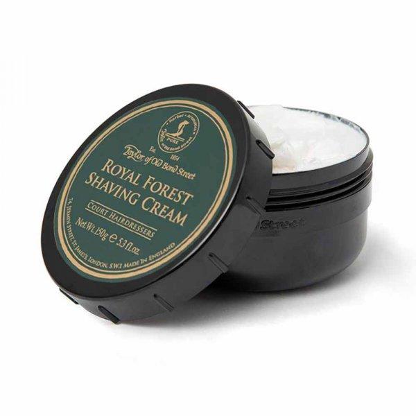 Crème à raser Taylor of Old Bond Street Royal Forest