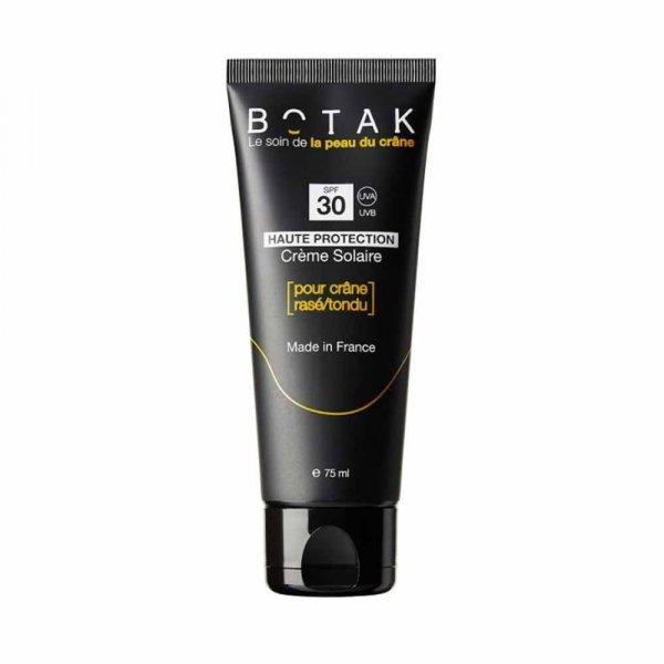 Crème Solaire Botak pour crâne rasé/tondu