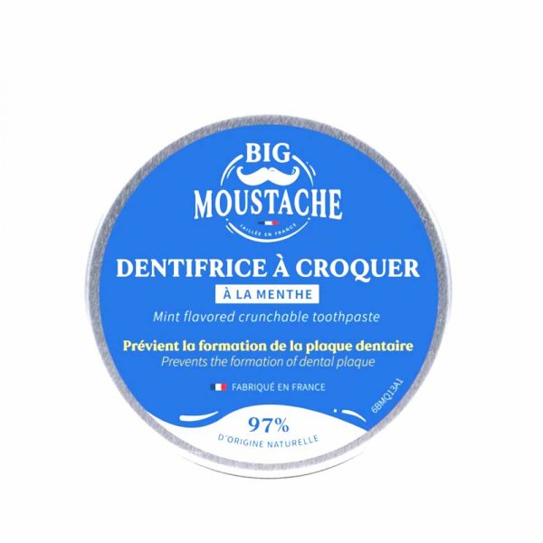 Dentifrice à croquer Big Moustache