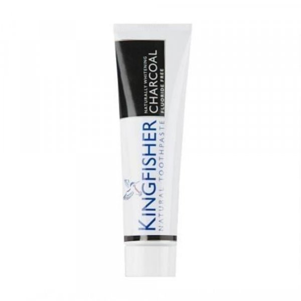 Dentifrice naturel Kingfisher au charbon sans fluor