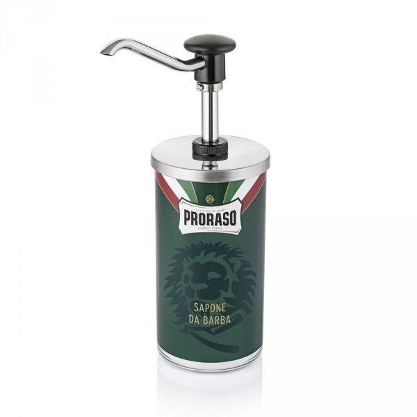 Flacon pompe Proraso pour crème à raser