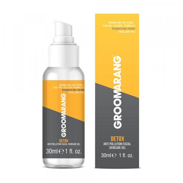 Gel hydratant anti pollution homme Groomarang