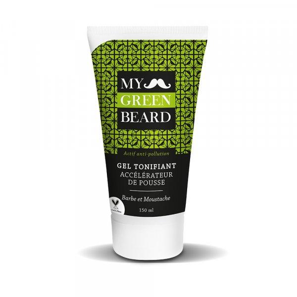 Gel tonifiant accélérateur de pousse barbe My Green Beard