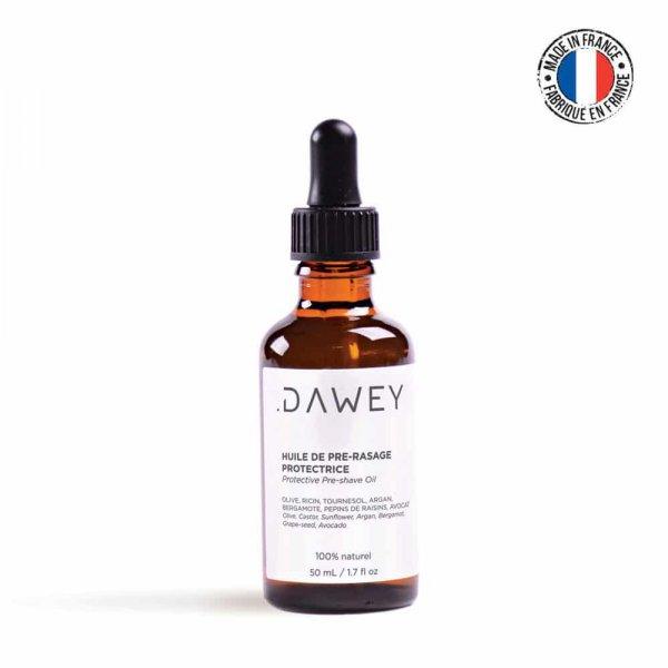 Huile de pré-rasage protectrice Dawey