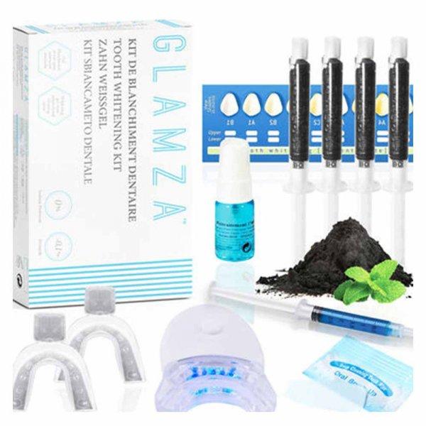 Kit blanchiment dentaire au charbon actif Glamza