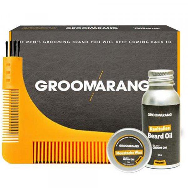 Kit entretien barbe Groomarang Premium