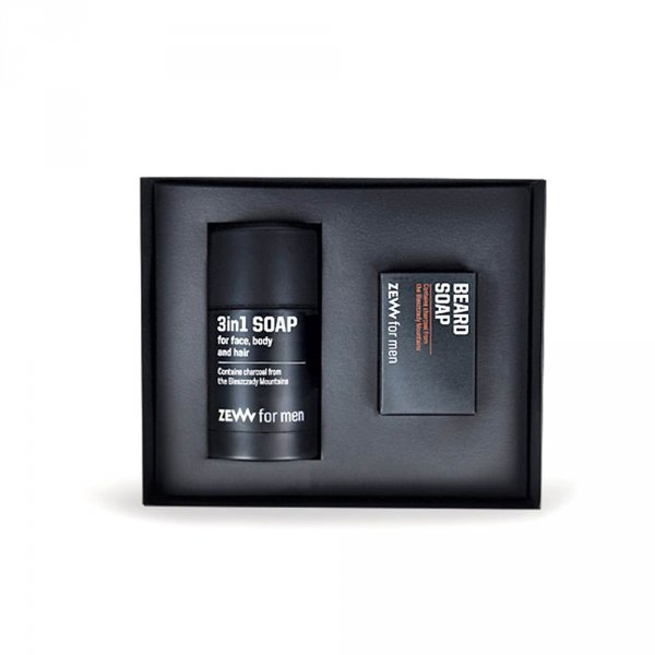 Kit entretien barbe ZEW For Men Minimaliste