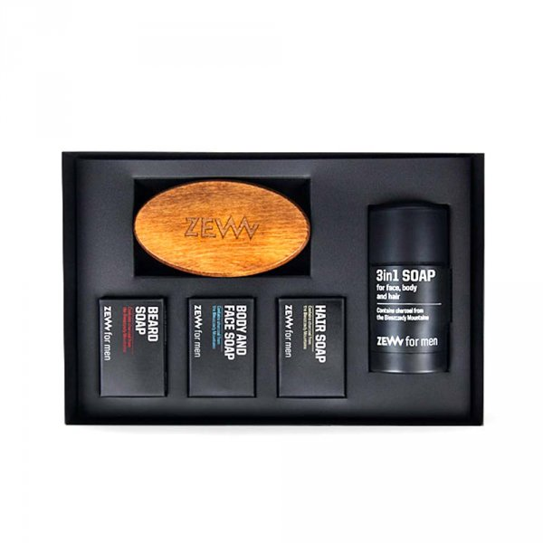 Kit entretien barbe ZEW For Men The Bearded Man's Holiday Set